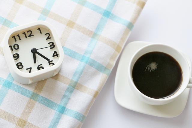 おめざでコーヒー